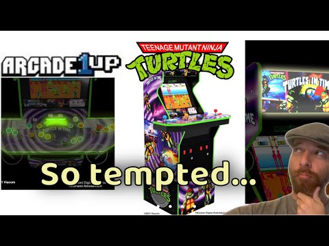 TMNT Turtles in Time Arcade 1Up reveal!! from Mad Hatter Reviews