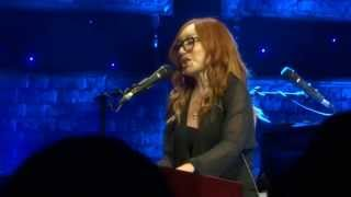 Tori Amos performing Hey Jupiter at the Greek Theater in Los Angeles July 23, 2014
