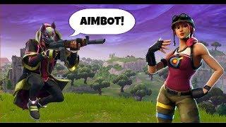 Aimbot Trolling! Fortnite Battle Royale Playground!