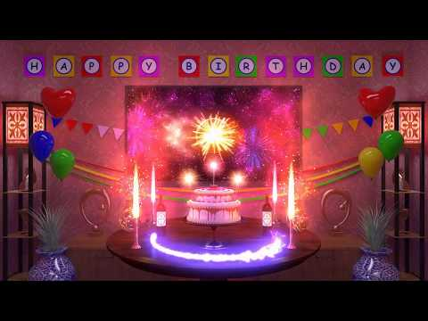 Magical Animated Happy Birthday Song 2