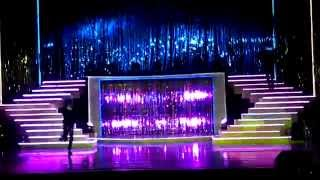 Michael Jackson Janet Jackson impersonator live duet Scream MJ day 2014 Rainbow Magicland Valmontone