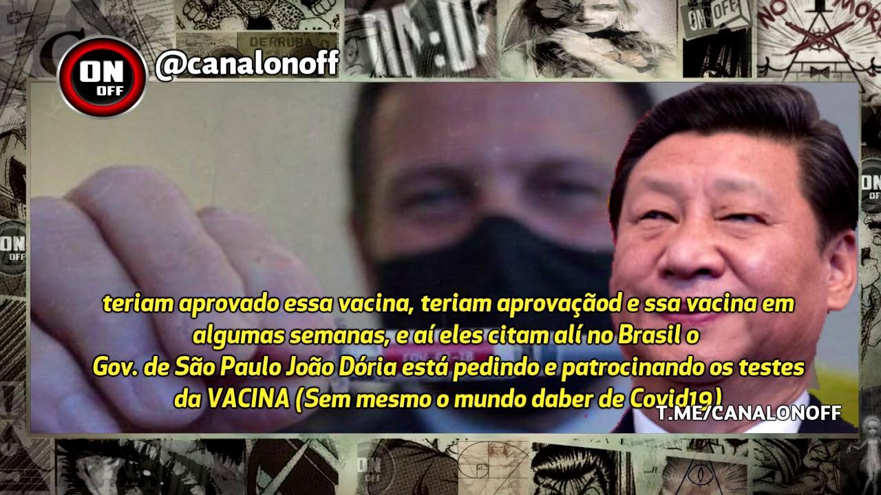 👁️🗨️ BOMBA! João Dória fez acordo com a China pela vacina bem antes da Pandemia existir? Como pode?