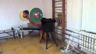 Klokov Dmitry - Specially exercise for BACK !!!