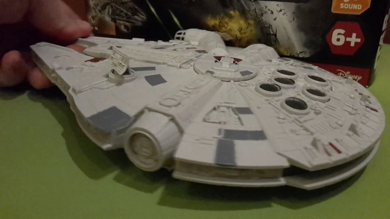 Revell Star Wars Millenium Falcon Level 1 LIGHT AND SOUND, NO GLUE