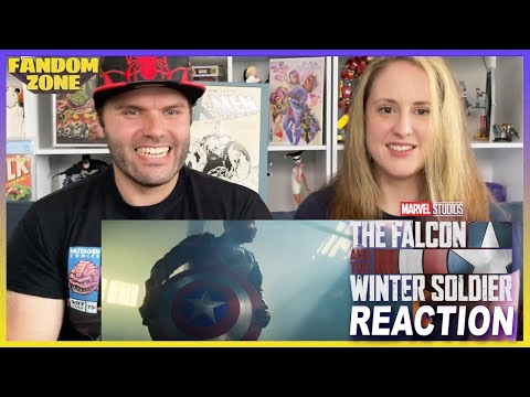The Falcon and The Winter Soldier Final Trailer REACTION!
