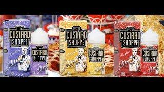 жидкости The Custard Shoppe. Наш обзор