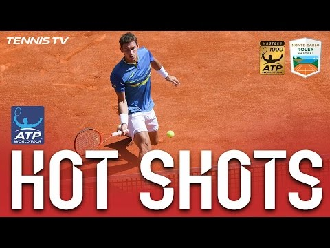 Hot Shot: Carreno Busta Goes Behind The Back In Monte-Carlo 2017