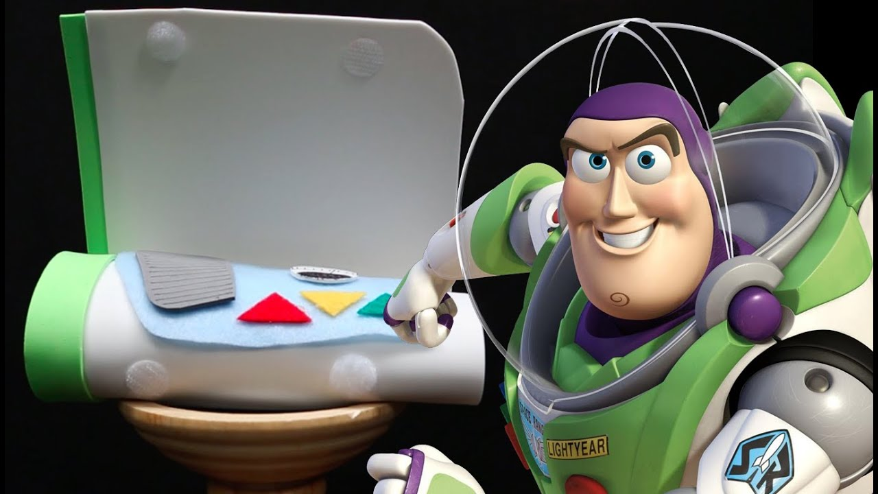 how to make buzz lightyear mission control arm pad