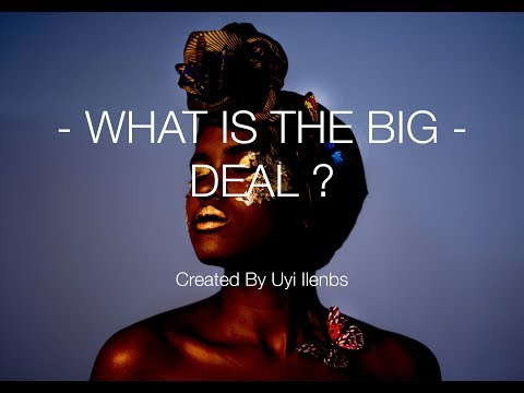 WHAT IS THE BIG DEAL: A story highlighting the effects cultural misrepresentation has on WOC.