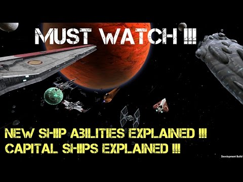 New Ship Abilities Explained !! Capital Ships Explained !! Must Watch !! Part 1/5!