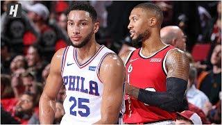 Gambar cover Philadelphia 76ers vs Portland Trail Blazers - Full Game Highlights | November 2, 2019-20 NBA Season