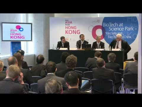 Think Asia, Think Hong Kong: BioTech at Science Park - Your Safe and Fast Track to China