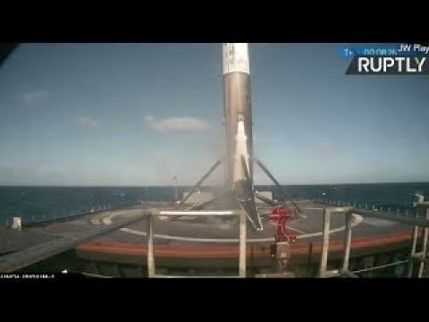 SpaceX Falcon 9 Returns to Flight Full Replay with Booster Landing on Drone Ship