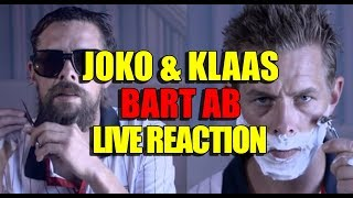 JOKO & KLAAS BART AB 😂 - LIVE REACTION | BART ANALYSE | BARTMANN