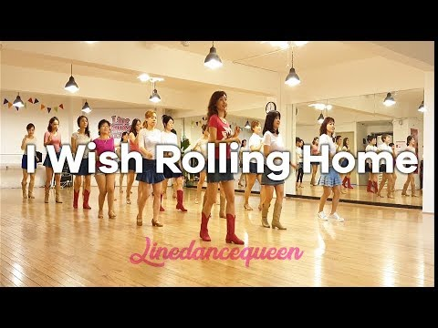 I Wish Rolling Home Line Dance (Beginner Country) Seoyoung Park & Christina Yang Demo