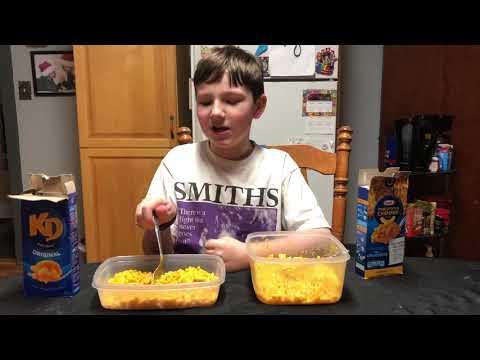 Canadian KD vs. American macaroni & cheese