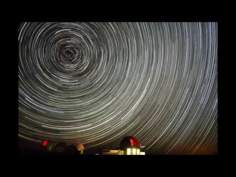 LCOGT & IRSF telescopes at SAAO star trails