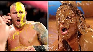 10 Times WWE Wrestlers Used FOOD as Weapons