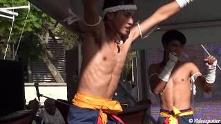 Fiery Thai Kick Boxers ( Muay Thai) Display - Thailand Grand Festival 2013 Sydney Australia thumbnail