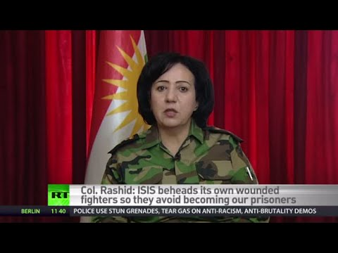 Female Peshmerga fighter: ISIS jihadists fear us, think won't go to heaven if killed by woman