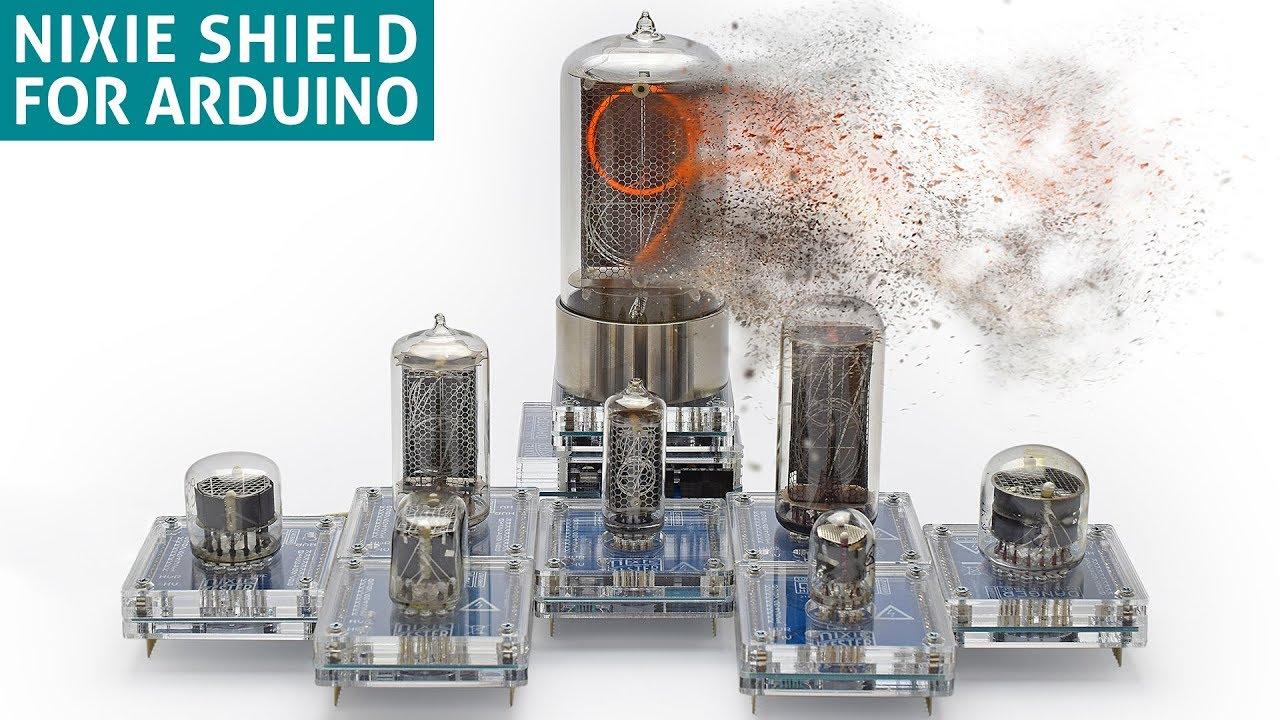 Nixie Tube Shield for Arduino - Arduino Project Hub