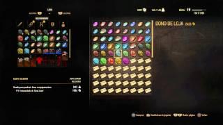 The Witcher 3 - Como fabricar runas e glifos/herbalista mestre