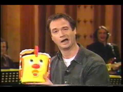 1997 Francois Pérusse chronique ''jouets'' émission 'L'écuyer'