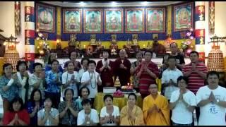 [祝賀師尊73歲仙壽影片] 印尼 - 泗水市 蓮齊堂