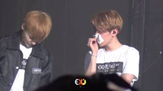 Video [EXOYEAH]150308 The EXO'LuXion  BaekHyun focus download MP3, 3GP, MP4, WEBM, AVI, FLV Juni 2018