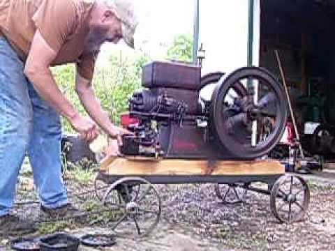 1919 ECONOMY E 2&1/2 HP hit miss engine for sale