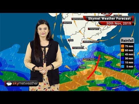 Weather Forecast Nov 30: Heavy Rains In Chennai, Kerala, Cool Night In Delhi, Punjab, Haryana