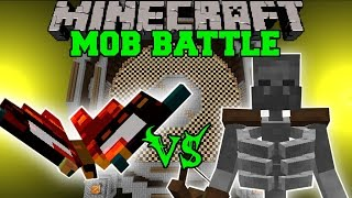 BRUTALFLY VS MUTANT SKELETON & EVIL SUN BOSS - Minecraft Mob Battles - Mods