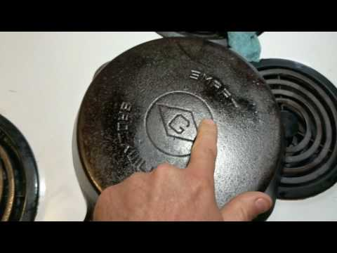 Seasoning Cast Iron with Flax Oil