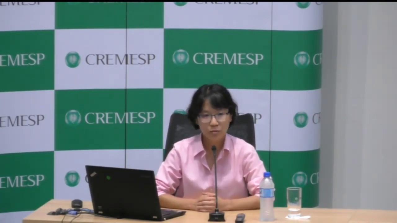 Palestra com a Dra  Ho Yeh Li sobre dados clínicos do Covid-19