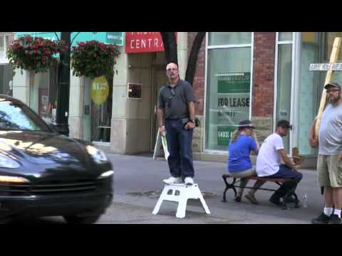 Tony Miano: Open-Air on Stephen Avenue (Calgary)