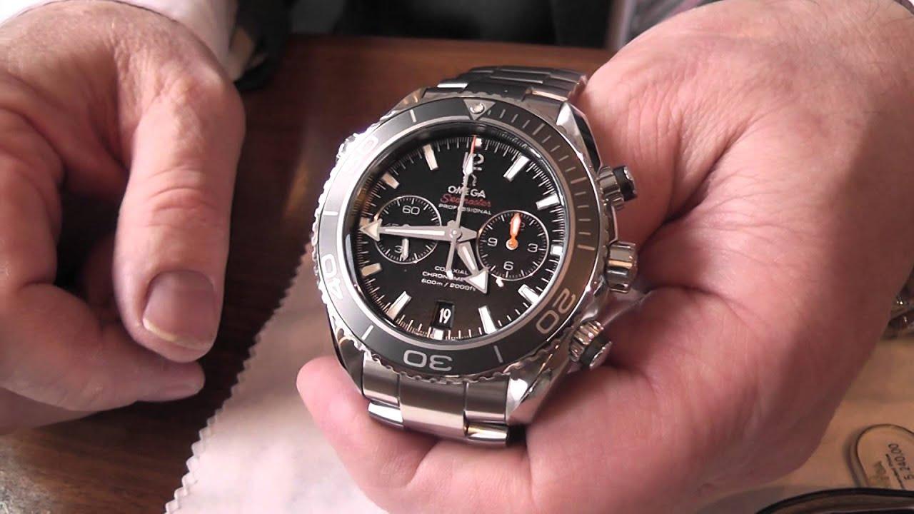 Omega seamaster planet ocean chronograph - 5 10
