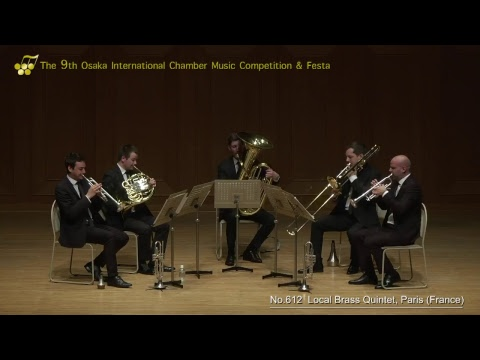 9th Osaka International Chamber Competition: Local Brass Quintet