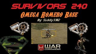 War Commander - Survivors (240) Omega Romero Base.