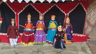 Puppet show | Kathputli | Indian art | Amber Palace | Jaipur | Rajasthan