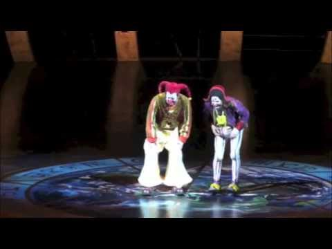"Cirque du Soleil ZED ""hi hi hi"" clown act with Onofrio Colucci & Anatoli Akerman"