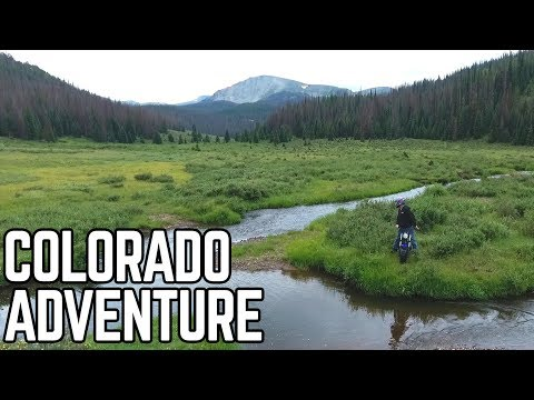 Mini Bike Wilderness Adventure: Poage Lake