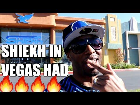 SHIEKH SHOES IN VEGAS HAD HEAT!!!
