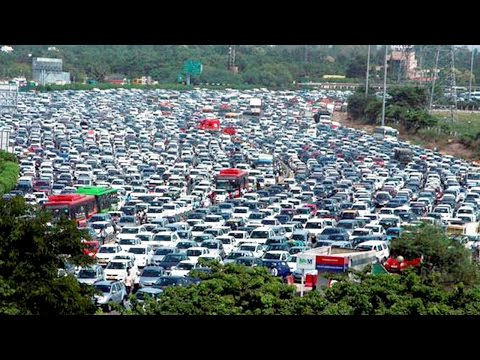 Top 10 Most Traffic Congested Cities In the World || Pastimers