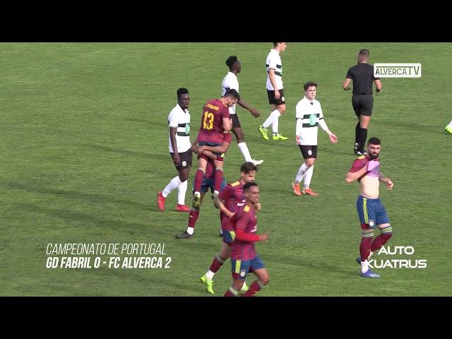 GD Fabril 0 - FC Alverca 2 Highlights