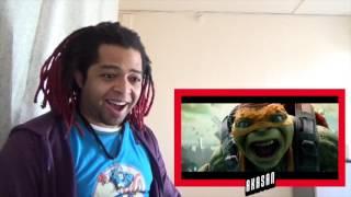 Teenage Mutant Ninja Turtles 2 - Big Game Spot - REACTION