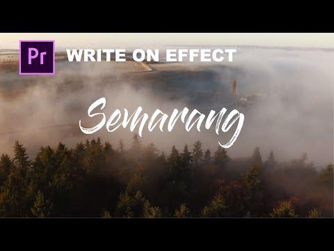 MEMBUAT WRITE ON TEXT EFFECT YANG KECE (BEAUTIFUL DESTINATIONS) | Premiere Pro Tutorial
