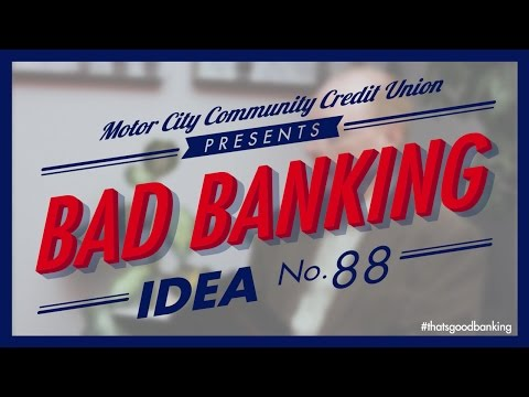 Bad Banking Idea No. 88 - Personal Financial Management