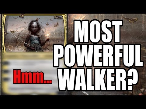 WHO IS THE MOST POWERFUL PLANESWALKER IN MAGIC: THE GATHERING?