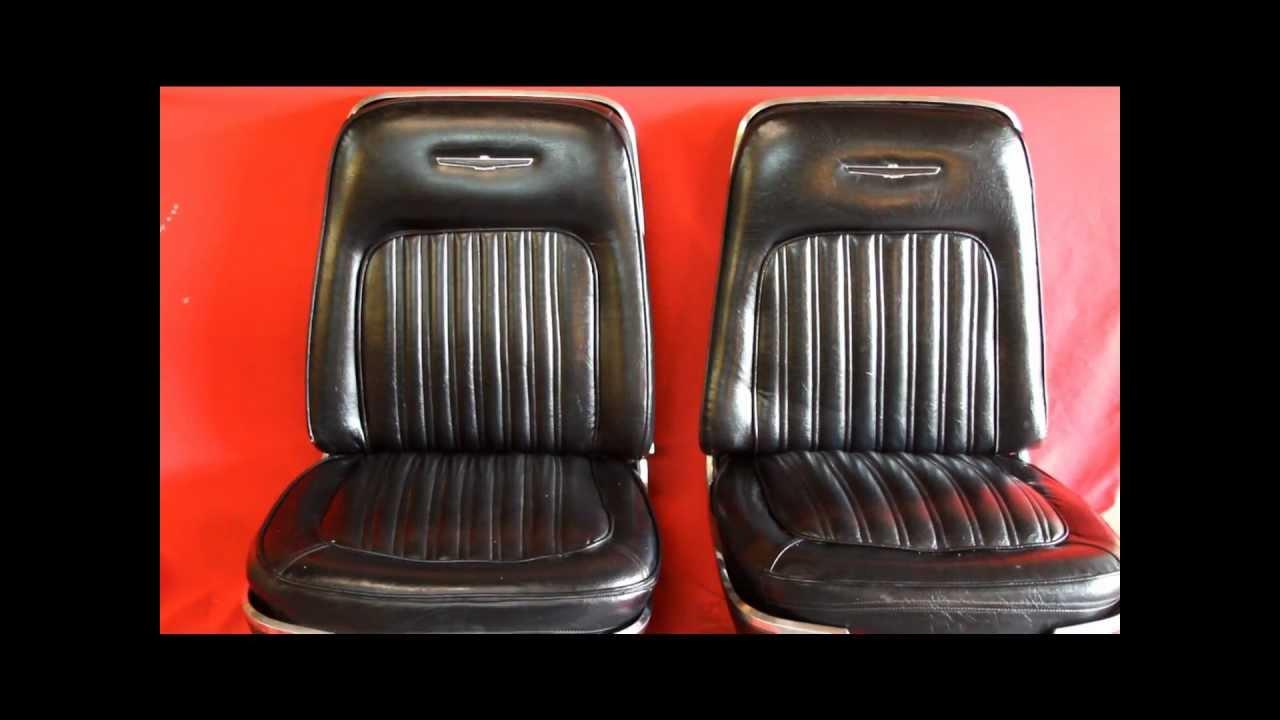 1970 Thunderbird Bucket Seats