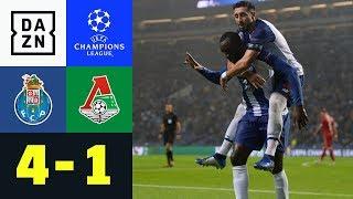 Jefferson Farfan mit Ehrentreffer für Lok: FC Porto – Moskau 4:1 | Champions League |DAZN Highlights